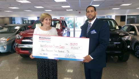 BYSC wins grand prize - Westchester Toyota's Give Back