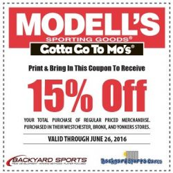 Spend $80 or more at Modell's Sporting Goods and enjoy free shipping on your order + free in-store returns. 20% Off Fall Favorites. Expires 10/19/ CDT Get coupon code Sale 2 used today Modell's Sporting Goods Coupons, Sales & Promo Codes Columbus Day Sale .
