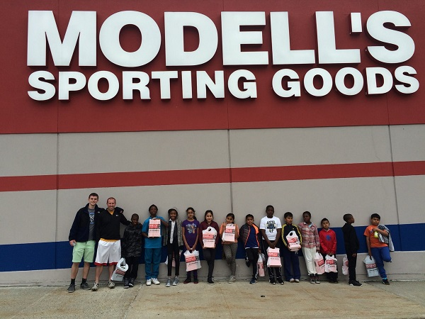 competitive price 154a8 fdffa BYSC Soccer Players Get New Cleats from Modell s