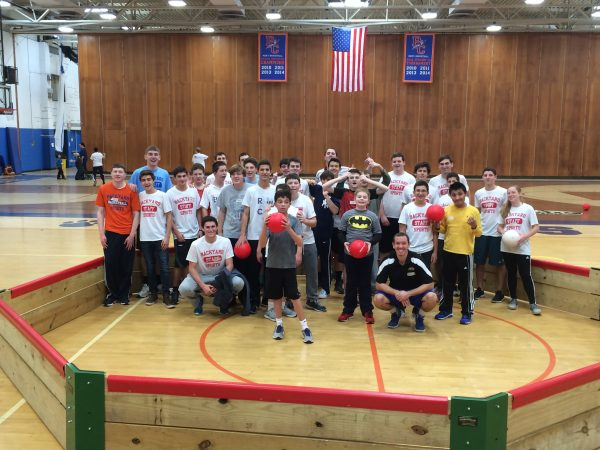 BYSC Special Needs Athletes Play Gaga