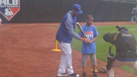 mets coach kids from BYSC and New Flex