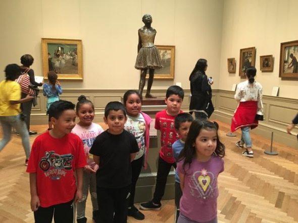 learning to look art program