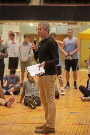 Danny Bernstein, executive director, Backyard Sports Cares