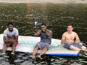 Teens from YSOW on Brant Lake