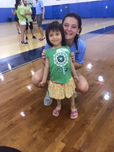 emily holzberg with special needs child