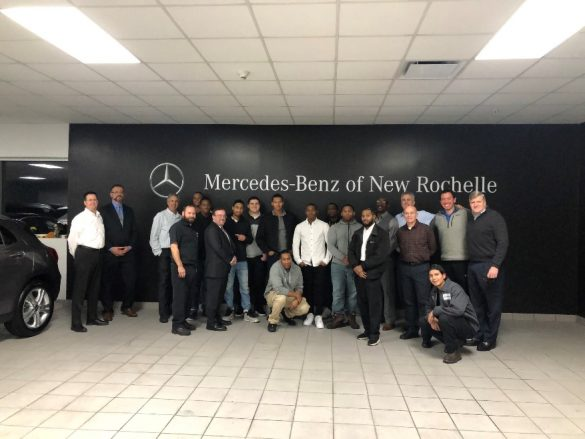 mentoring day at mercedes benz of new rochelle