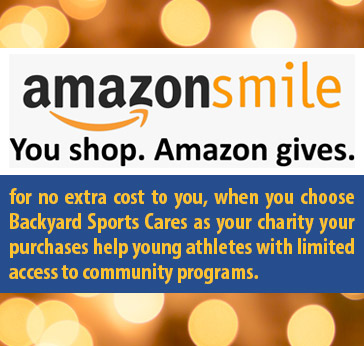 backyard sports cares and amazon smile