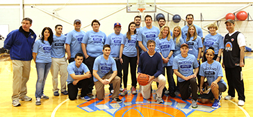 Backyardsports cares and the new york knicks